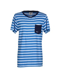 Revolution T Shirts Blue