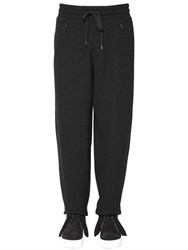 Ports 1961 20Cm Wool Cotton Jersey Jogging Pants