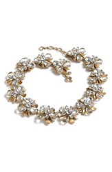 J.Crew Women's 'Crystal Blossom' Necklace