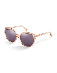 House Of Harlow Donnie 56Mm Round Sunglasses Nude