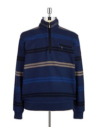 Bugatti Quarter Zip Sweater Blue