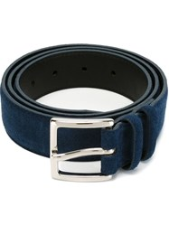 Orciani Buckled Belt Blue