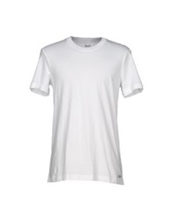 D And G Underwear Undershirts White