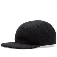 Filson Five Panel Wool Cap Grey