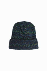 Missoni Zigzag Hat Navy