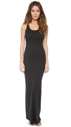 Splendid Ribbed Maxi Dress Black