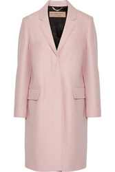 Burberry London Alphington Wool Felt Coat Pastel Pink
