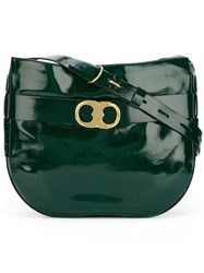 Tory Burch Large 'Gemini' Crossbody Bag Green