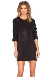 Evil Twin Knox Sweater Dress Black
