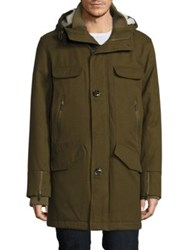 Rainforest Thermoluxe Waterproof Blanket Twill Parka