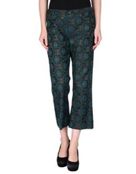Adele Fado Queen Casual Pants Deep Jade