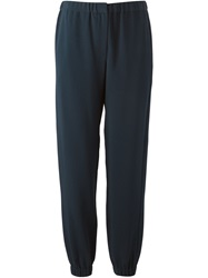 Cedric Charlier Cedric Charlier Elasticated Trousers Blue