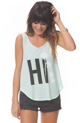 Women's Rip Curl 'Palm Street' Graphic Tank