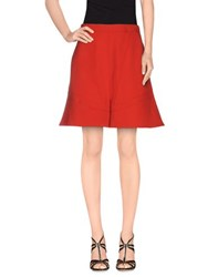 Givenchy Skirts Mini Skirts Women Red