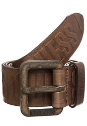 Guess Joel Belt Copper Coin Brown