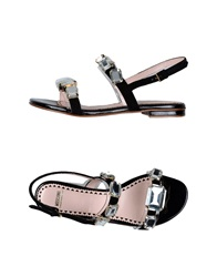 Moschino Cheap And Chic Moschino Cheapandchic Sandals Black