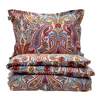 Gant Key West Paisley Duvet Cover Papaya Orange King