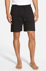 Men's Boss Cotton Lounge Shorts Black