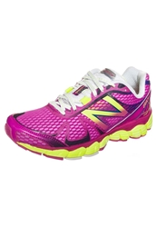 New Balance W880 V4 Py4 Cushioned Running Shoes Purple Yellow Pink