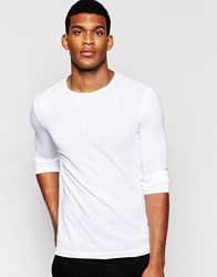 United Colors Of Benetton Long Sleeve Top White
