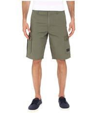 Oakley Foundation Cargo Shorts Worn Olive Men's Shorts