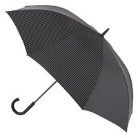 Fulton Knightsbridge 2 City Stripe Umbrella Black