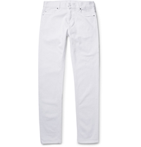 Tomas Maier Slim Fit Stretch Denim Jeans White