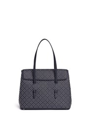Azzedine Alaia 'Arabesque' Small Stud Washed Leather Flap Tote