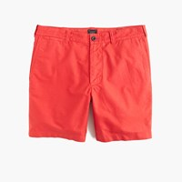 J.Crew 7' Stanton Short In Garment Dyed Oxford Cloth Rusty Brick
