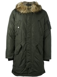 Diesel 'W Asily' Military Parka Green