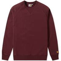 Carhartt Chase Sweat Burgundy