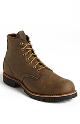 Red Wing Shoes Round Toe Boot Olive Brown 2947