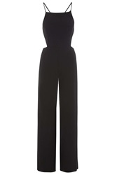 Cut Out Jumpsuit By Oh My Love Black
