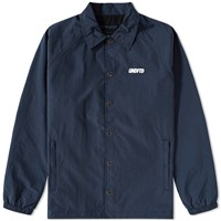 Undefeated Vented Coaches Jacket Blue