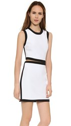 Kaufman Franco Sleeveless Dress Optic Jet