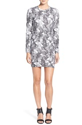 Eleven Paris 'Space' Sheath Dress Moon Marble