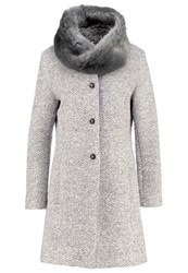 More And More Classic Coat Light Grey