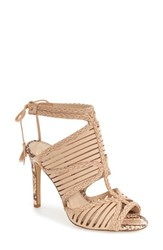 Vince Camuto Women's 'Kabira' Strappy Sandal Au Natural Leather