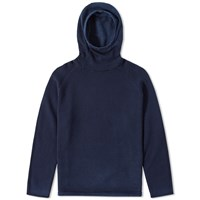 Nonnative Cowboy Hooded Knit Blue