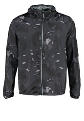 Asics Fujitrail Sports Jacket Okinawa Dark Grey Multicoloured