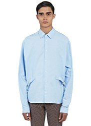 J.W.Anderson Strapped Oxford Shirt Blue