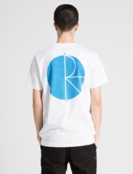 White Sky Blue Psc Fill Logo Behind The Curtain T Shirt