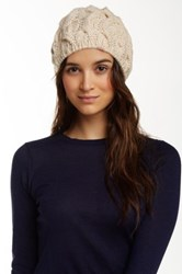 Free People Snow Bird Beanie White