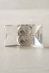 Anthropologie Moonrise Knob Clear