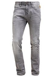 Meltin Pot Lone Slim Fit Jeans Grey Denim
