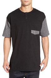 Imperial Motion Men's 'Harper' Short Sleeve Pocket Henley T Shirt