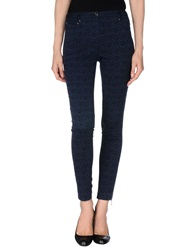 Matthew Williamson Casual Pants Dark Blue