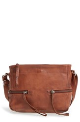 Day And Mood 'Hannah' Leather Crossbody Bag Brown