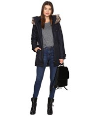 Only Iris Parka Night Sky Women's Coat Blue