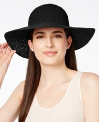 Collection Xiix Color Expansion Floppy Hat Black